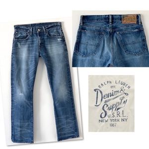 Ralph Lauren Jeans - DENIM & SUPPLY RALPH LAUREN DISTRESSED JEANS 31 32